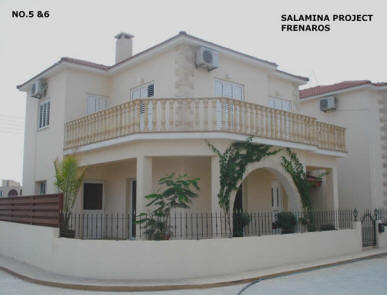 3 bed villa frenaros