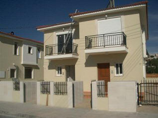 This two bedroom town house is in the Colombia area of Limassol
