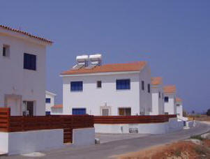 2 bed semi-detached villa protaras