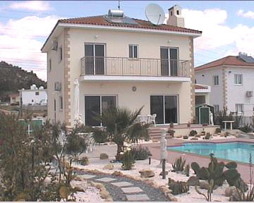 Detached House For Sale In Oroklini Near Larnaca Cyprus
